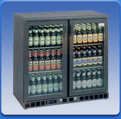 Glass door bottle cabinets